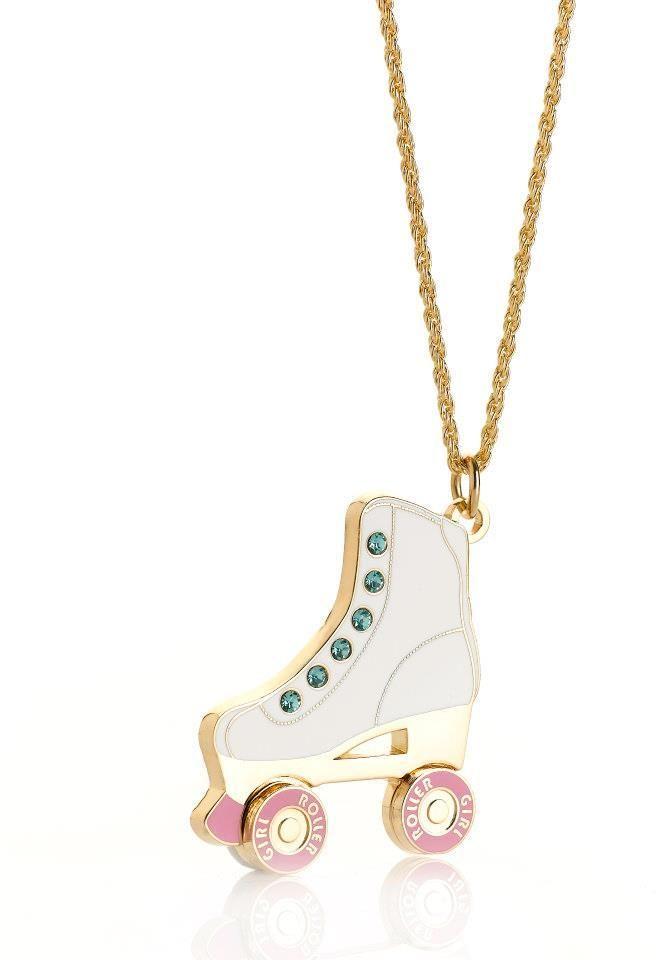 Roller Girl Roller skate necklace