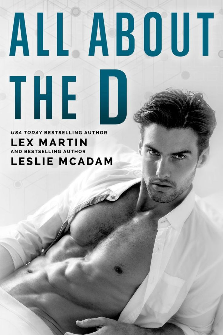 Title: All About the D Authors: Lex Martin & Leslie McAdam Genre: Standalone Romantic Comedy Cover Design: Najla Qamber Designs Model: Mitchell Wick Photographer: Wong Sim Release Date: May 2, …