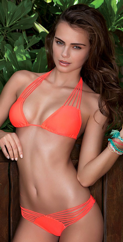 Luli Fama 2014 Verano de Rumba Hot Mess Multi String Bikini | Southbeachswimsuits