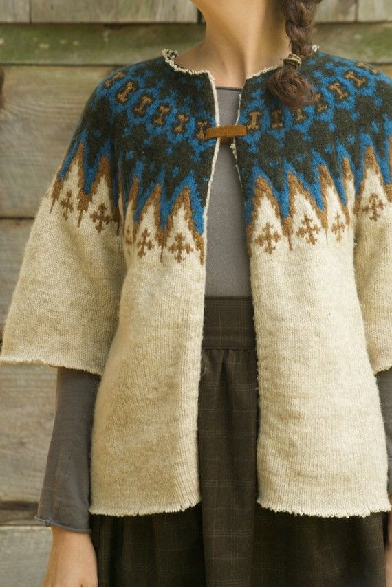 wool reuse sweater by woodroots on Etsy