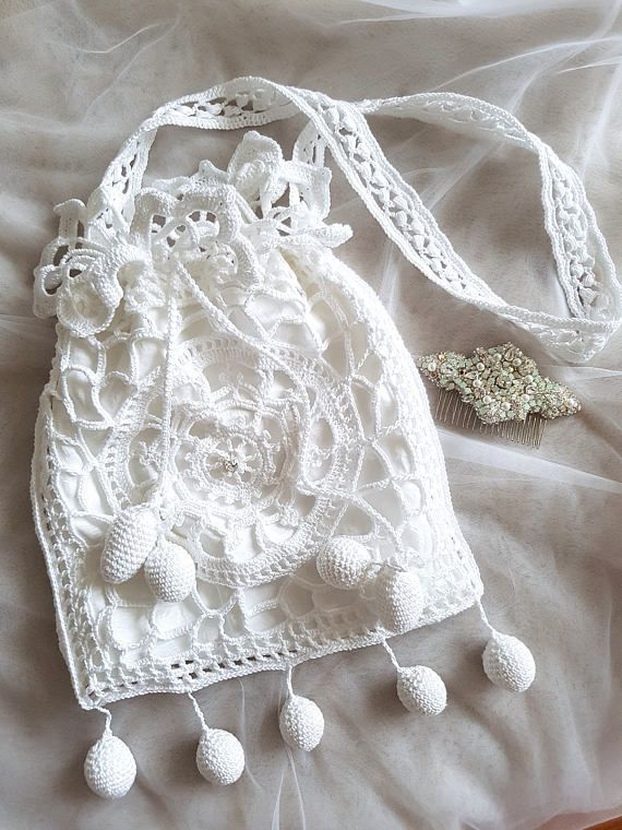 Check out this item in my Etsy shop https://www.etsy.com/listing/527668245/victorian-purse-edwardian-lace-crochet