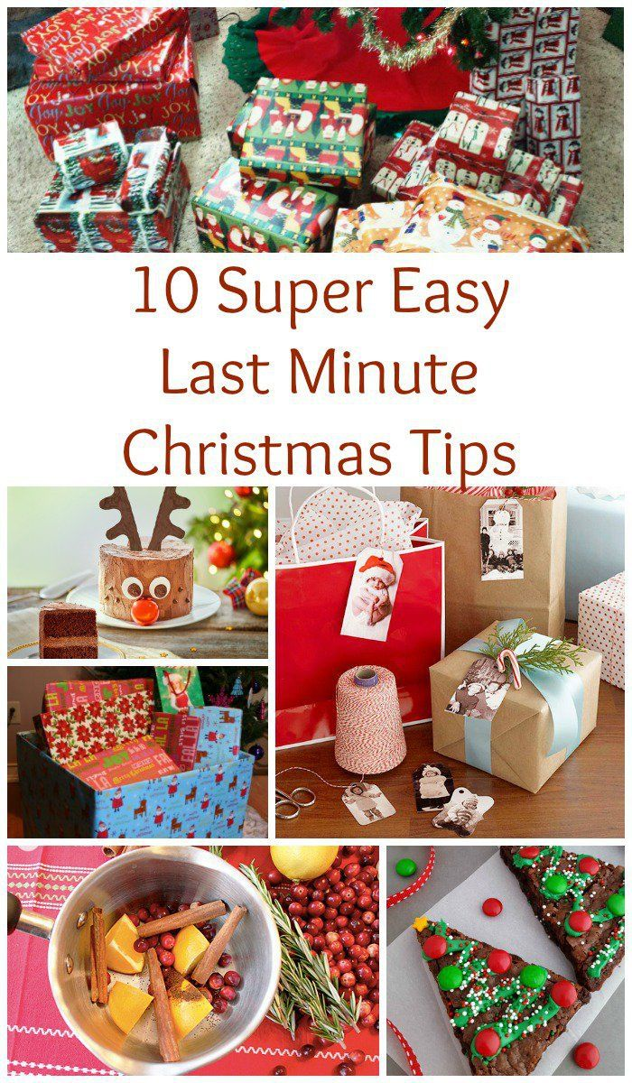 10 super easy last minute christmas tips last minute the o 39 jays and for the. Black Bedroom Furniture Sets. Home Design Ideas