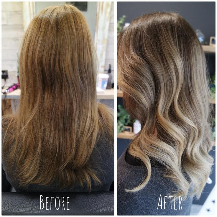 Before & After transformation comparison. We still have some spaces left at the salon for the last Saturday before the New Year. Book online @ www.sdhair.co.uk/ ✂ #hairdressing #davines #colour #balayage #bristol