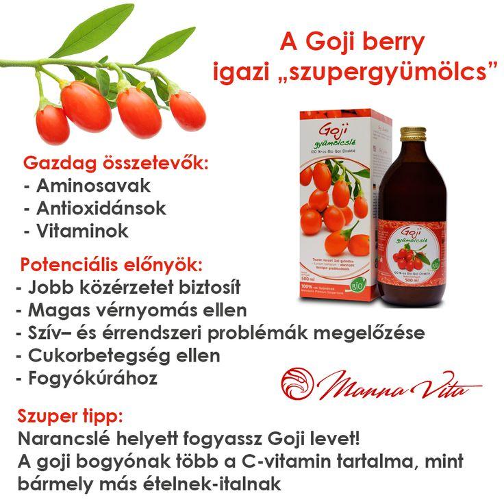 Goji berry az igazi szupergyümölcs.