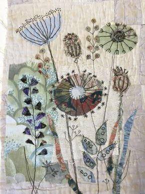 Mandy Pattullo seed head inspired class