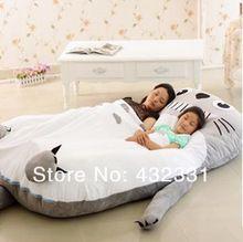 Colchón infantil, rápida y Seguridad Entrega, Totoro Cama, adultos / niños durmiendo piso colchón , saco de dormir , de gran tamaño Sofá Bolsa(China (Mainland))