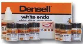WHITE ENDO-PERBORATE • Blanqueador interno, para dientes  endodónticamente tratados • Kit 6 frascos de polvo x 1 g + 1 líquido x 15 ml + Accesorios - Cod 6544