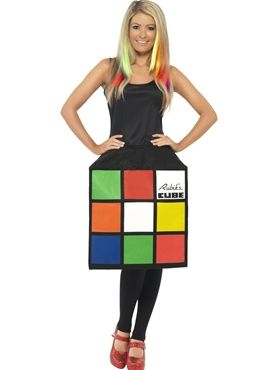 Adult Rubiku0027s Cube Costume  sc 1 st  Pinterest & 100 best Halloween images on Pinterest | Costume ideas Halloween ...