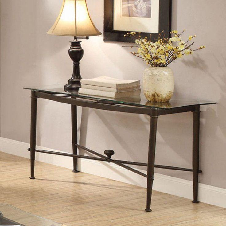 Coaster Furniture Rectangular Glass Top Sofa Table - 720479