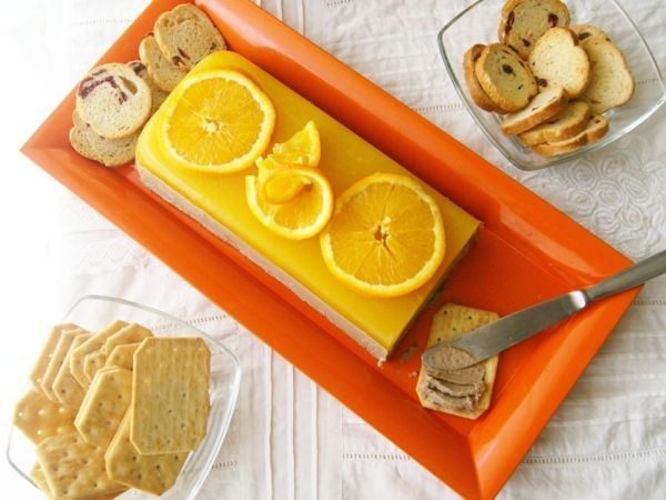 Receta Paté casero a la naranja, para mendia - Petitchef