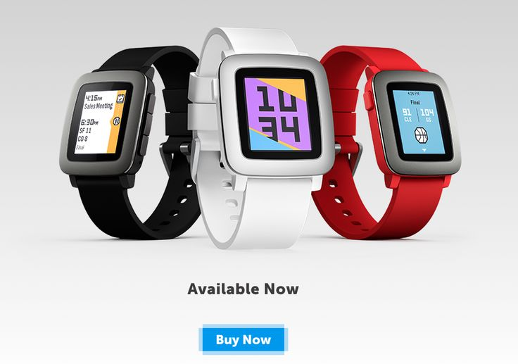 Pebble Time is now available to everyone via big box stores