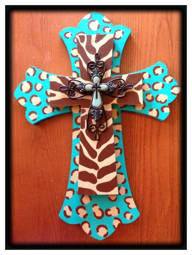 Hand Painted Crosses | Hand painted cross. | Home is where the