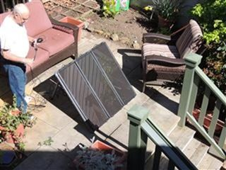 Tips for setting up a simple solar panel kit using the Thunderbolt Magnum Solar Kit from Harbor Freight.