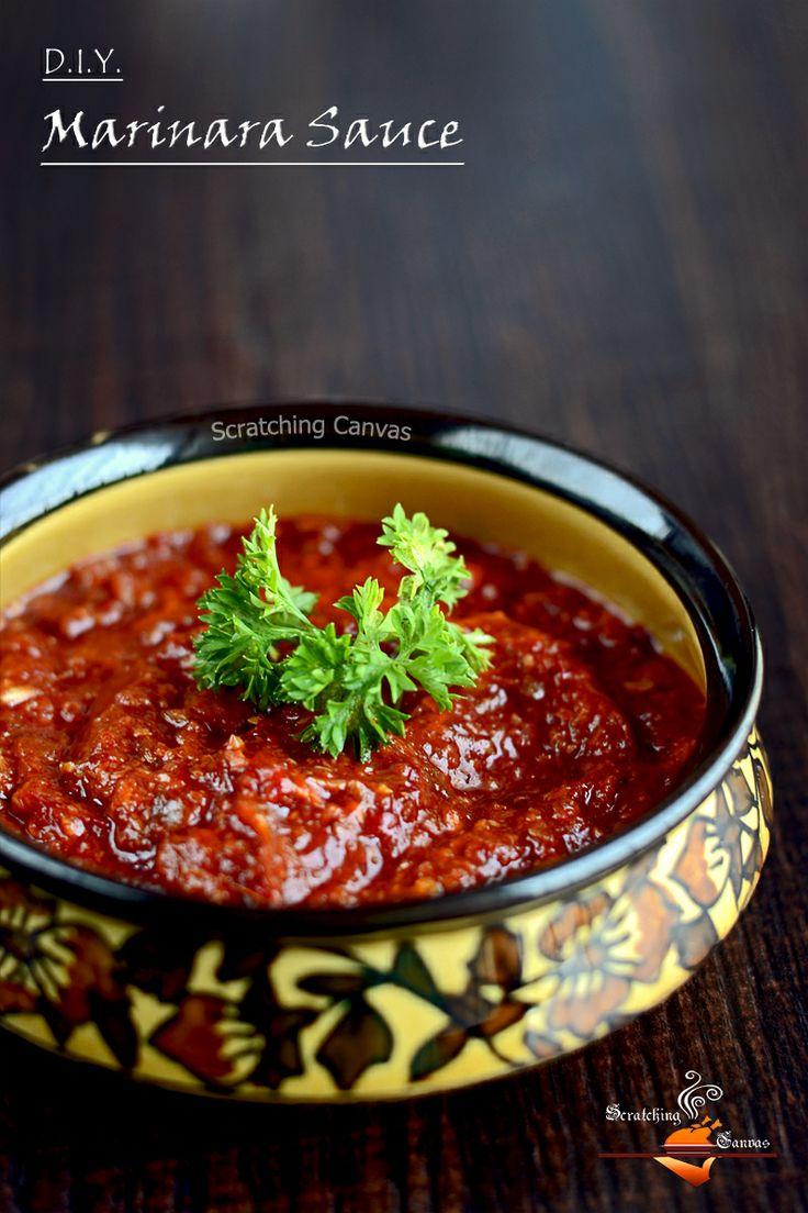 Di.I.Y. Marinara Sauce in 20 mins