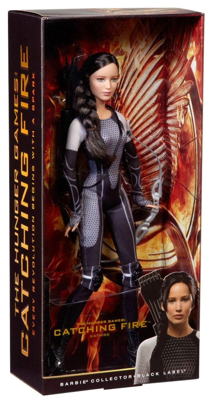 Catching Fire Barbie Doll | ... Katniss Everdeen - The Hunger Games: Catching Fire (Barbie Collector