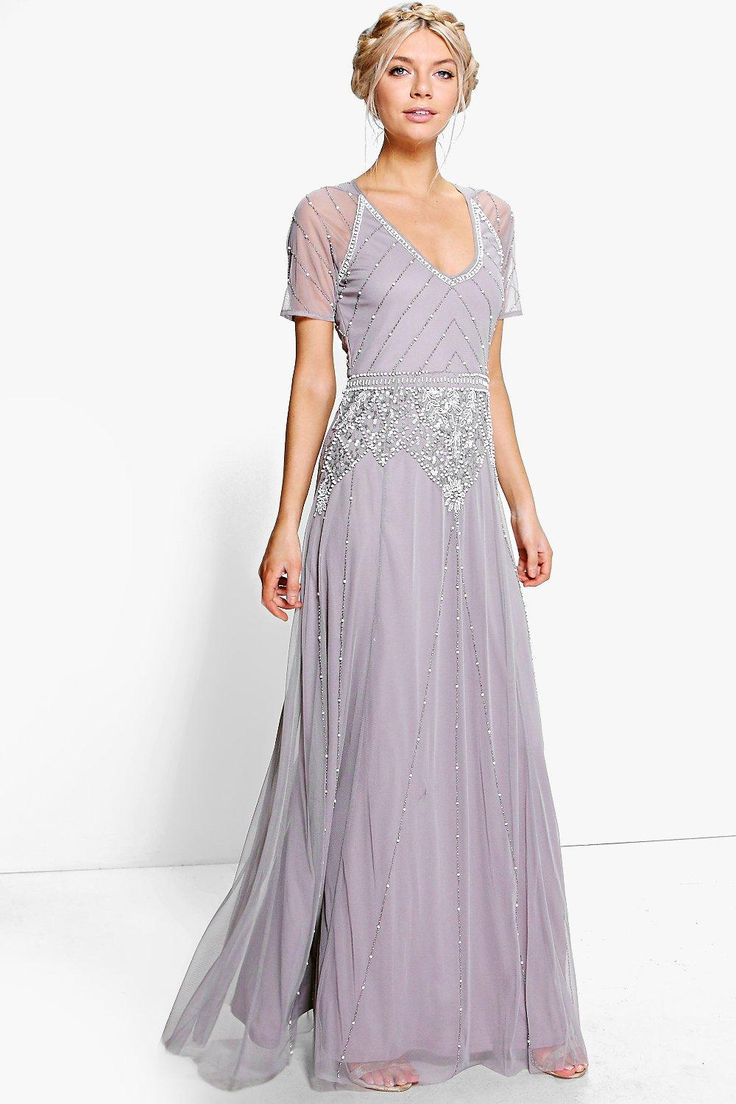 530 best 1920s wedding clothes images on pinterest 1920s wedding 1920s bridesmaid dresses gowns boutique mai beaded cap sleeve maxi dress purple ombrellifo Images
