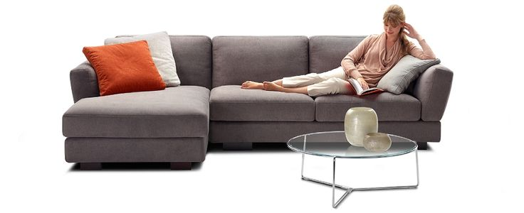 King Furniture  CAROUSEL SOFT  love the lines of this sofa