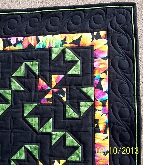Oklahoma Twister Visits Kansas Quilt - Quilt Pictures, Patterns & Inspiration... - APQS Forums