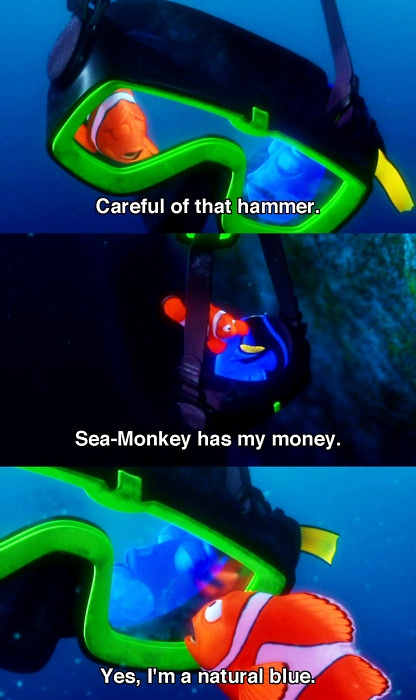 dory and marlin relationship with god