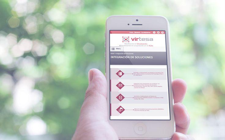 Diseño Sitio Web - Virtesa