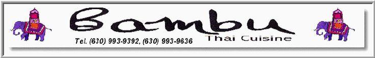 Welcome to Bambu Thai Cuisine, an authentic Thai Restaurant in Elmhurst, IL