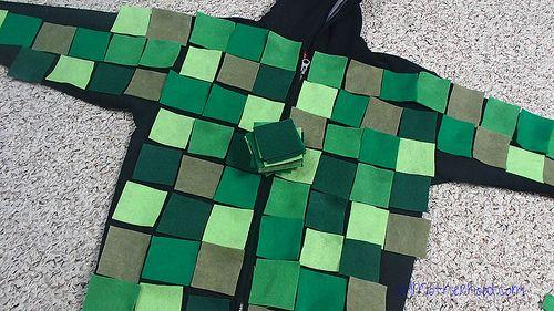 minecraft creeper softie pattern | minecraft creeper costume