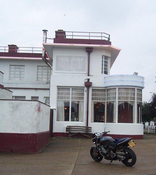 Art Deco pub at Skegness