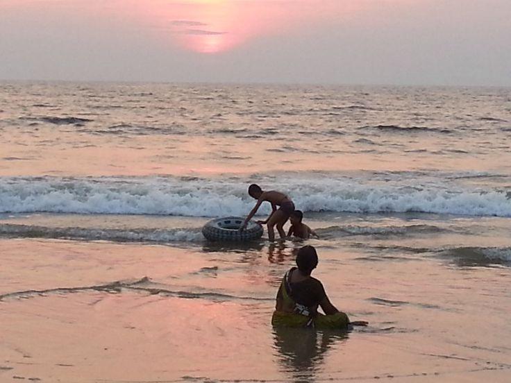 Sunset Benaulim, Goa
