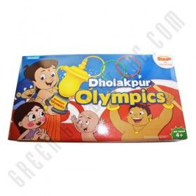 Buy Chhota Bheem Dholakpur Olympics at Official Online Shop of Green Gold Animation. Avail Free Shipping within India. Grab now in online at Green Gold Store. Grab at http://www.greengoldstore.com