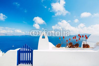 FotoMural Santorini Island, Greece | Ref: 51641490
