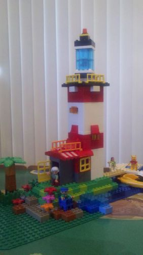 Duplo Lighthouse: A LEGO® creation by Sean Porter : MOCpages.com