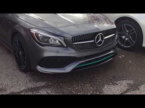 2017 CLA Motorsports Edition - Mercedes-Benz AMG - Petronas Green - YouTube