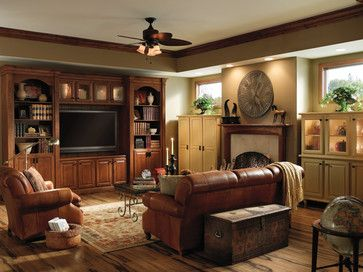 Delightful Family Rooms, Home Offices, Entertainment Areas   Traditional   Living Room    Minneapolis   Medallion Cabinetry Great Ideas