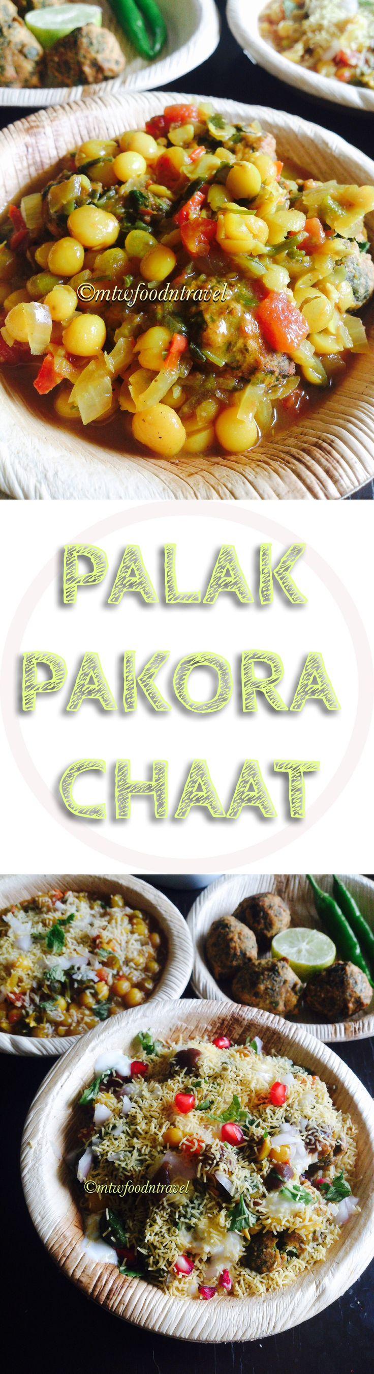 Palak Pakora/Spinach Fritters CHAAT