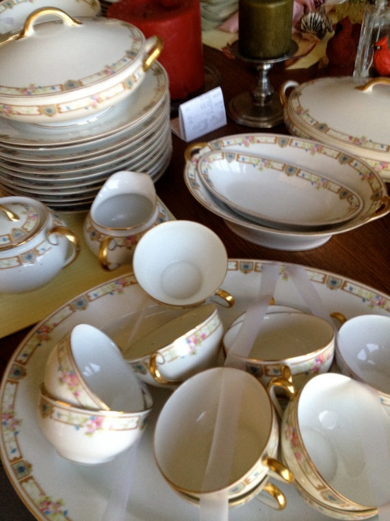 14 best Nippon china images on Pinterest | Noritake, Dish sets and ...
