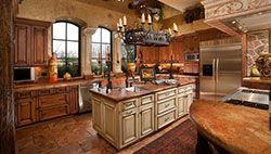 Тосканский стиль в интерьере кухни