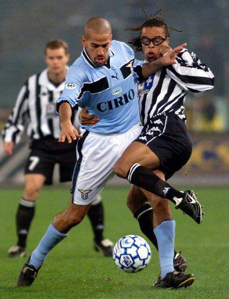 Juan Sebastien Veron vs Edgar Davids & Pessotto - SS Lazio vs Juventus