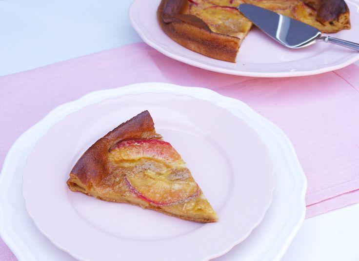 Healthy Baking: Clafoutis met nectarine