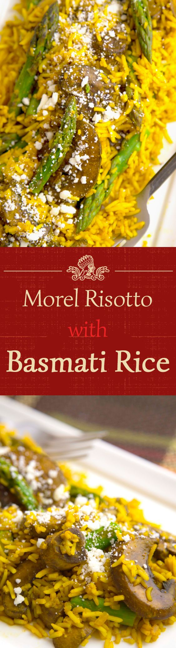 This exciting twist on traditional risotto won't disappoint. Try this Royal Basmati Rice Morel Risotto recipe!