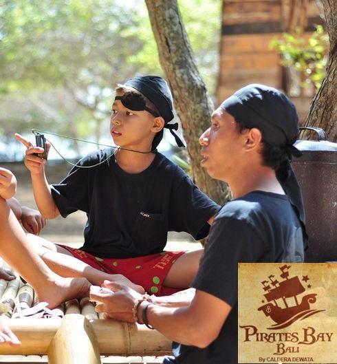The Pirates Bay , Nusa Dua, Bali . Indonesia