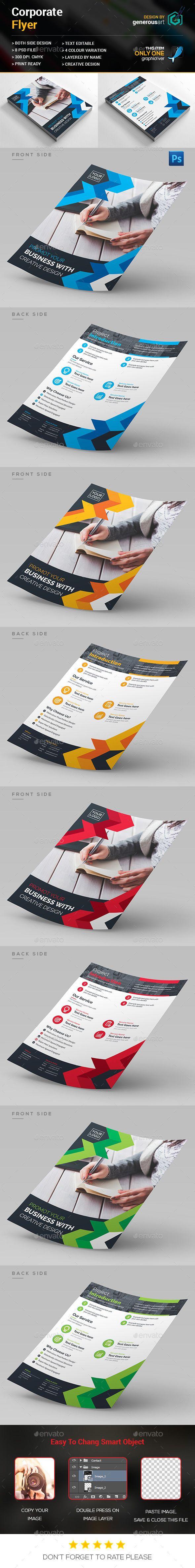 Creative Flyer Template PSD. Download here: http://graphicriver.net/item/creative-flyer/15223211?ref=ksioks