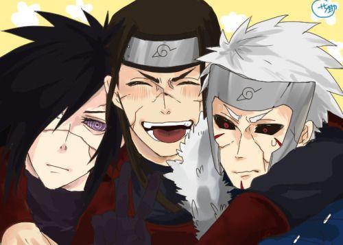 The Demon King...Madara Hashirama and Tobirama Edo-Tensei...<3