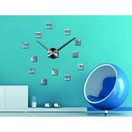Die größte Auswahl an Stunden in verschiedenen Farben für eine perfekte Wand. Elegante Klebstoff Stunden. Wanduhr an der Wand sind mit hochwertigen Maschinen für die wiederaufladbare Batterie AA 1,5 V ausgestattet, die durch geringes Rauschen gekennzeichnet ist. Containerbewegungen und Zeiger der Uhr sind aus massivem Stahl, die an der Wand einfach montiert sind. Die Installation ist sehr einfach und wird ein Hobby Zienka jeder Haushalt geworden. Der Rest der Komponenten in Form von Zahlen…