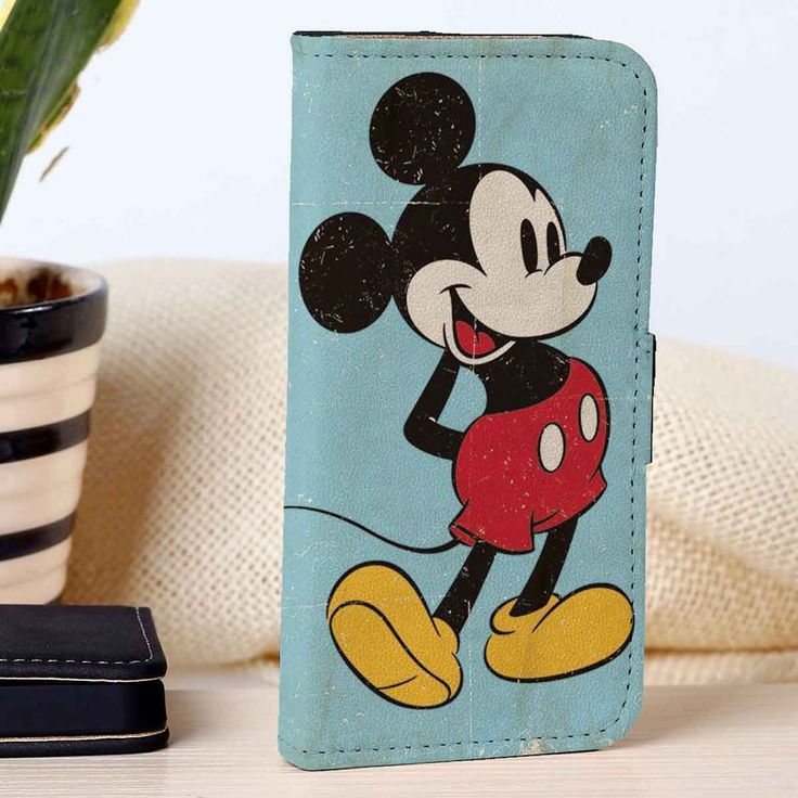 Classic Mickey Mouse | Disney | Movie | custom wallet case for iphone 4/4s 5 5s 5c 6 6plus case and samsung galaxy s3 s4 s5 s6 case - RSBLVD