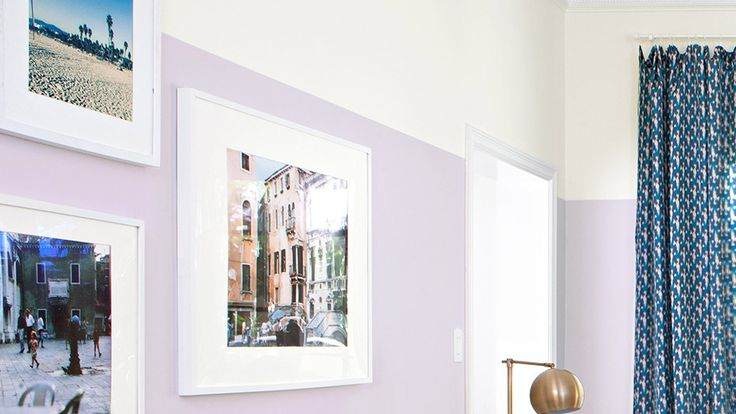 A two-tone paint job is an affordable way to update a room. Henderson suggests painting roughly two-thirds of the wall to make the ceilings feel higher (just don't line up the color break with the doorframes, she says).