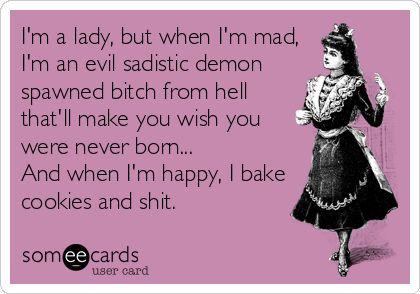 I'm a lady.