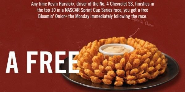 Today Only! Free Bloomin' Onion at Outback Steakhouse!