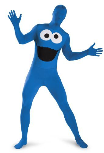 Disguise Men's Sesame Street Cookie Monster Bodysuit Costume Teen  http://www.beststreetstyle.com/disguise-mens-sesame-street-cookie-monster-bodysuit-costume-teen/