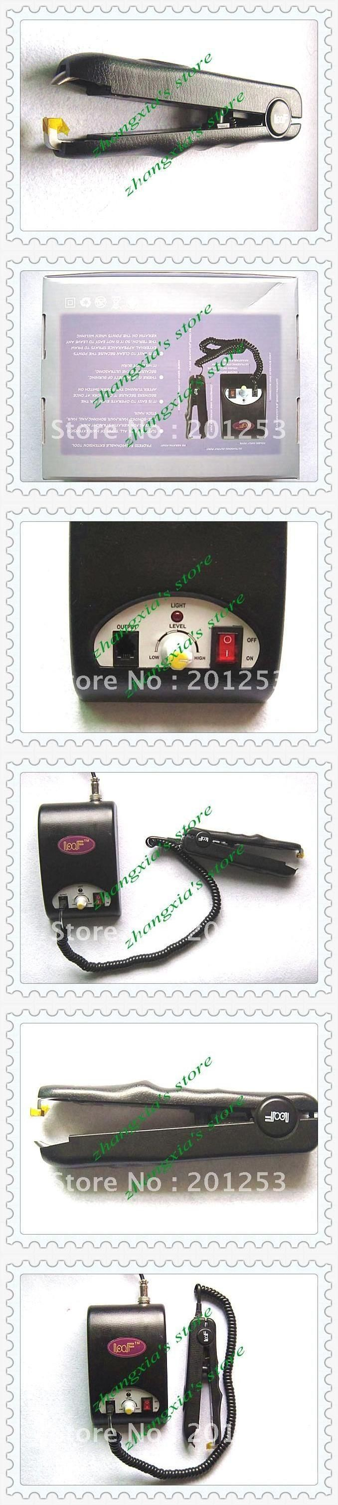 Ultrasonic Professional Hair Extensions Fusion Iron/Connnector, Hair Extension Tools , 1pcs/lot