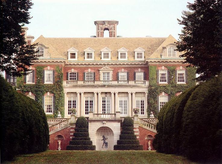 OldHouses.com - 1907 Colonial Revival - Westbury House in Old Westbury, New York